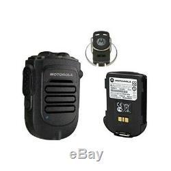 Motorola Bluetooth Sans Fil De Haut-parleur Déporté MIC Kit Avec Chargeur Apx6000 Apx7000