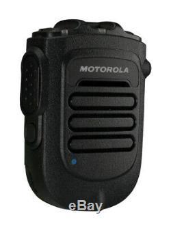 Motorola Bluetooth Télécommande Sans Fil Haut-parleur MIC Kit Avec Chargeur Apx6000 Apx7000
