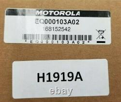 Motorola Eq000103a02 Multiplexer All-band H1919a Kit Apx8500 Avec 4 Câbles Qma-qma
