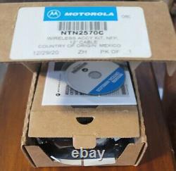 Motorola Oem Bluetooth Casque Kit Ntn2570c Apx4000 Apx6000 Apx7000, Xts, Xpr
