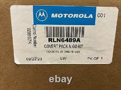 Motorola Rln6489a Kit Covert Pack-n-go Bluetooth Sans Fil Apx