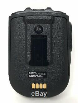 Motorola Rln6554a Bluetooth Télécommande Sans Fil Haut-parleur MIC Kit Apx6000 Apx7000