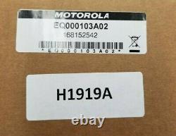 Multiplexeur Tout-bande Motorola H1919a Kit Eq000103a02 Apx8500 Avec 4 Câbles Qma-qma