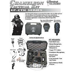 Oreille Tactique Gadgets Chameleon Kit Tactique Pour Motorola Apx Xpr Radios Bidirectionnelles