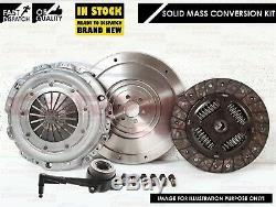 Pour Audi Tt 1.8 Turbo 20v 180 225 Bhp Ajq Apx Solide De Masse Flywheel Kit D'embrayage