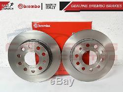 Pour Audi Tt Mk1 Avant Ventilé Brembo Disques Pads De Set 99-05