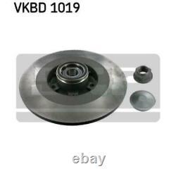 Skf 2x Bremsscheiben Voll Vkbd 1019