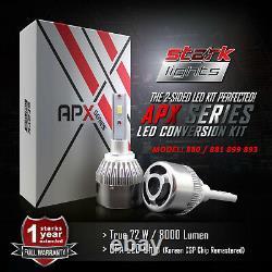 Stark Apx 72w 8000lm Led 6000k White Fog Light Conversion Kit 880 881 893 899