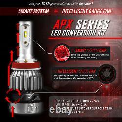 Stark Apx Snowmobile Led Bulbs 90w 9600lm 6000k Headlight Kit Salut / Lo Dual H13