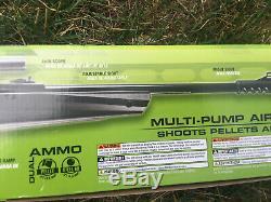 Umarex Nxg Apx. 177 Pellets Bb Gun Multi-pompe Carabine À Air Comprimé Avec Le Kit Scope