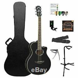 Yamaha Apx500iii Bl-kit-2 Acoustic Guitare Électrique Kit Chromacast Hard Case